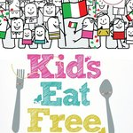 Kids eat FREE every Sunday!