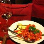 Bruschettas deliciosas no Ruffino