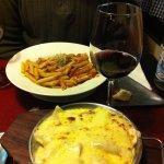 Ravioli e Penne do Ruffino: delícias