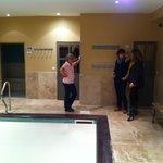 piscine intérieure et hammam