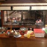 grill area of Mi Viejo