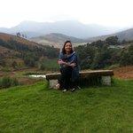 Enjoying some fresh mountain air...