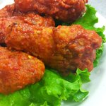 If you like it HOT, try our breaded wings.