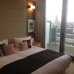 the bedroom with Big Ben in the background!!