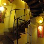 L'escalier du rez de chaussée
