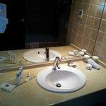 El baño no es lo mejor del hotel pero está muy bien