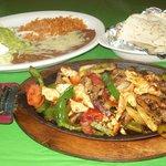 Dos Gorditos Fajitas- Steak, or Chicken for $10.99 or Combination for $11.99