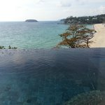 Infinity Pool in our Room overlooking Kata Noi Beach