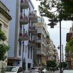 Strada dell'hotel