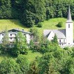 Hotel Kreuz und Kirche Buchboden