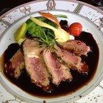 côte de bœuf au vin rouge