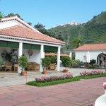 Courtyard of Casa Rural Malpais Trece