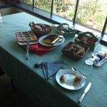 colazione:torte fatte in casa