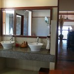 Bathroom, view to other rooms