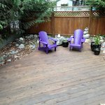 Wildberry front patio