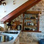 separate living area in attic space