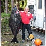 Paul and his 152lb Halibut!