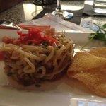 The tuna tartare...delicious!