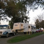Long, generous spaces - Prado RV Park