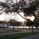 Some lakeview RV sites - Prado RV Park