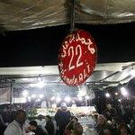 Tend 22, Place Jamaa el Fna