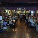 nice dinner atmosphere at oliva