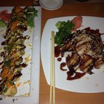 Crunchy Roll & Unagi Don