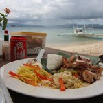 Private lunch on the beach