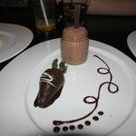 Dessert at the Italian Restaurant