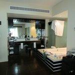 2 bedroom master bathroom with jacuzzi