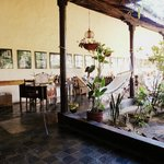 Typical Courtyard style restaurant