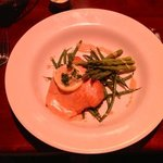 Atlantic Salmon with Asparagus and Green Beans