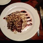 Flank Steak with Bacon and Bleu Cheese Risotto