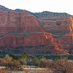 Courthouse Rock View from Adobe Village