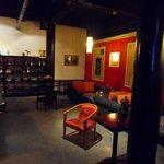 Inside the bar / restaurant