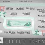 map of little tokyo