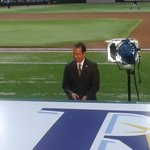 "Todd Kalas doing his ""pre-game"" thing..."