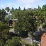 Vista  da área do hotel desde o mirante