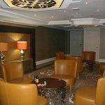 sala  en cada piso del hotel