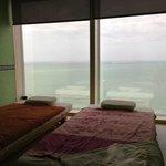 A bit dated massage room