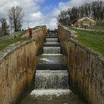 Canal de Castilla en Frómista