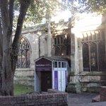 York St Mary's Enterance