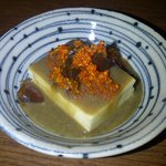 pitan dofu (century egg dofu)