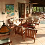 Villa Verandah - outdoor living and dining space