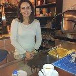 giovanna ha preparato il caffe