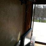 Cableado televisor y acceso a terraza
