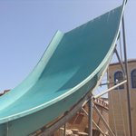Slide at the water park: Boomerango