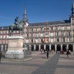 Plaza Mayor in lentezon