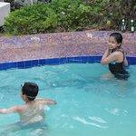mini swimming pool....