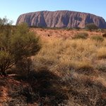 Uluru in the morning